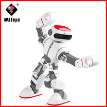 origial WLtoys F8 Dobi Intelligent Humanoid RC Robot Voice Control RC Robot with Dance/Paint/Yoga/Tell Stories RC Toy Model(China)