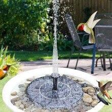16 см Солнечный Сделано в Китае фонтан открытый бассейн пруд птица для ванной патио пейзаж плавающий фонтан на солнечной батарее для украшен...