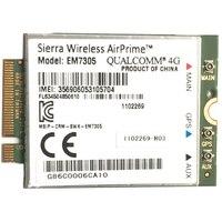 Sierra Wireless EM7305 4G M.2 Cartão WWAN NGFF LTE 100M  4G Módulo da Placa de Rede