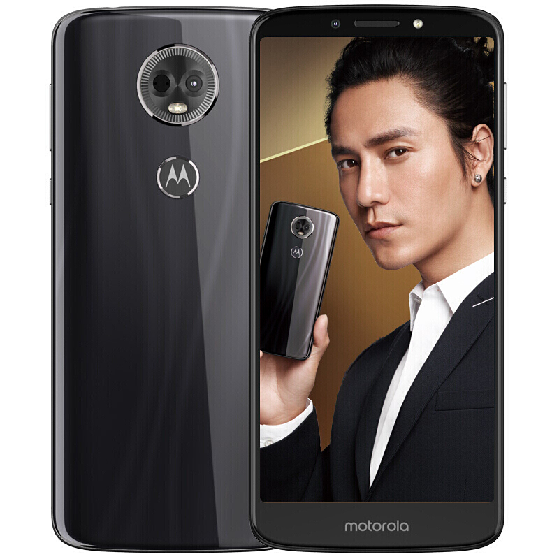 Moto E5 Plus 4GB 64GB 6 Inch 4G LTE Smartphone Snapdragon 430 Octa Core 12.0MP+5.0MP Android Mobile Cellphone Glass Body 5000mAh