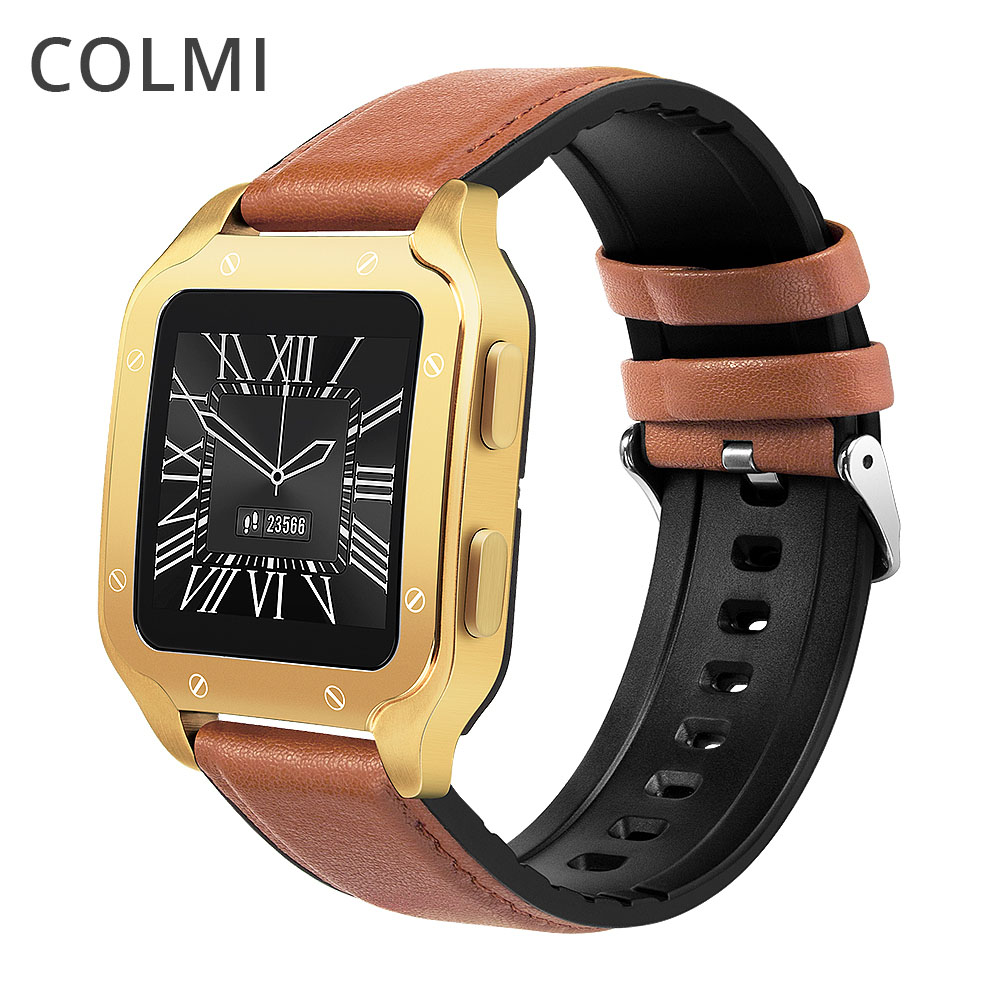 COLMI Land 2 Smart Watch Men Stainless steel body IP67 waterproof Fitness Tracker Smartwatch For phone