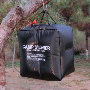 douche solaire Set avec Thermomètre Randonnée camping en plein air environ 18.93 L ASR Outdoor 5 Gal