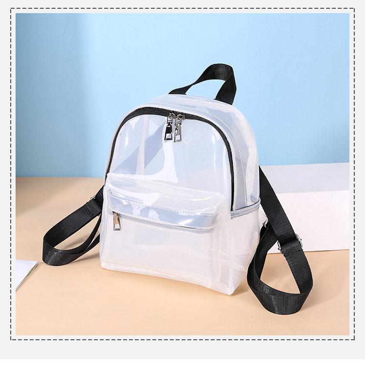 Fashion Fuit Bubble PVC Small Backpack, Holiday Weekend Leisure Street Show Rucksack