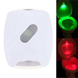 Toilet-Seat Bath-Light 2--Aa-Batteries Smart-Motion-Sensor Induction for Lid Used