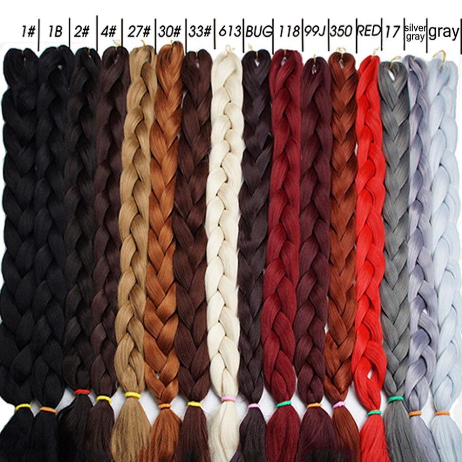Alizing Wig Jumbo Braid Hair For Locs 165g  Super Linda Hair Extension Synthetic Low Temperature Fiber Ultra Braiding Hair