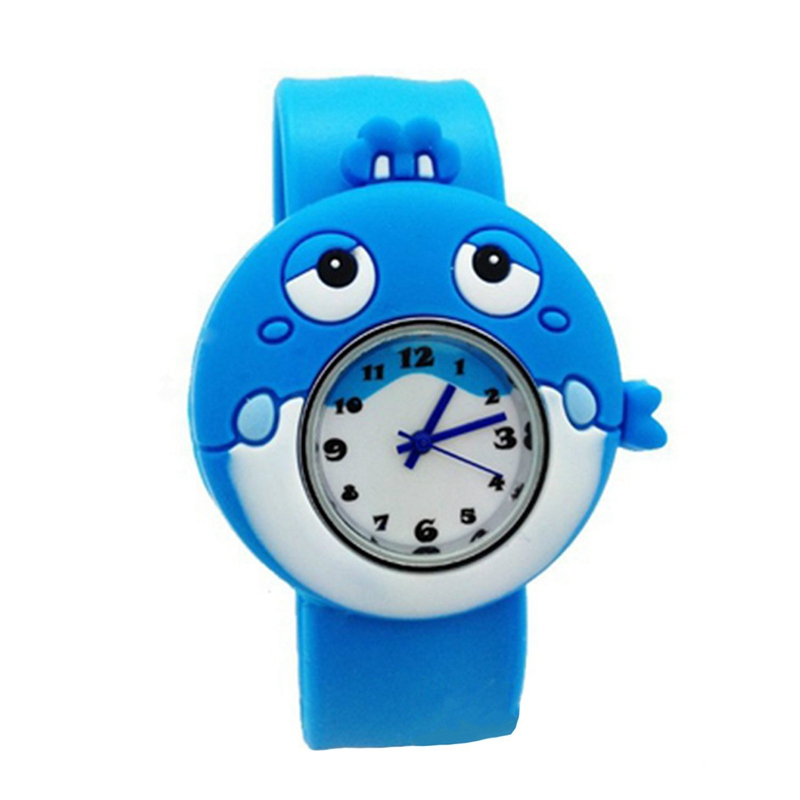 Children's Watches Cartoon Kids Wrist Baby Watch Clock Quartz Watches for Gifts Relogio Montre Sea whale