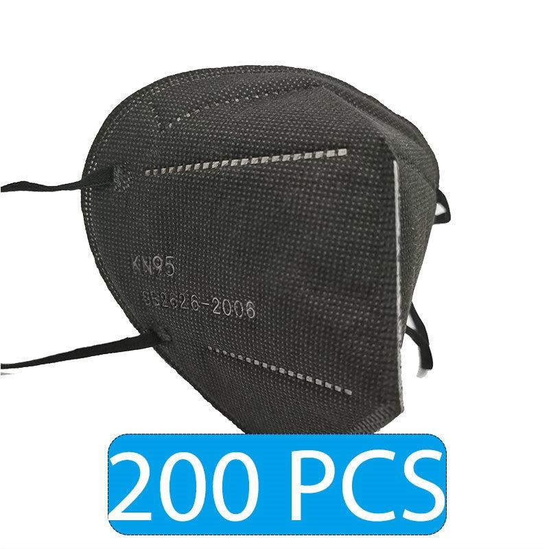 Black 200 PCS