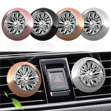 1pc Auto Luchtverfrisser Mini Fan Leuke parfum Auto Air Vent Clip Outlet geur geur kracht InteriorAuto Accessoires Auto -styling(China)