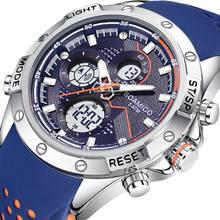 Мужские часы boamigo мужские новый бренд Роскошные военные цифровые
