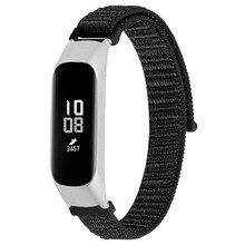 Replacement Wristband Nylon Loop Strap For Samsung Galaxy Fit-E R375 Band Canvas Watchband Steel Buckle Bracelet Straps(China)