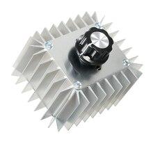Electric Voltage Regulator SCR Speed Dimming Controller Thermostat AC 220V 5000W SCR видеорегистратор supra scr 574w