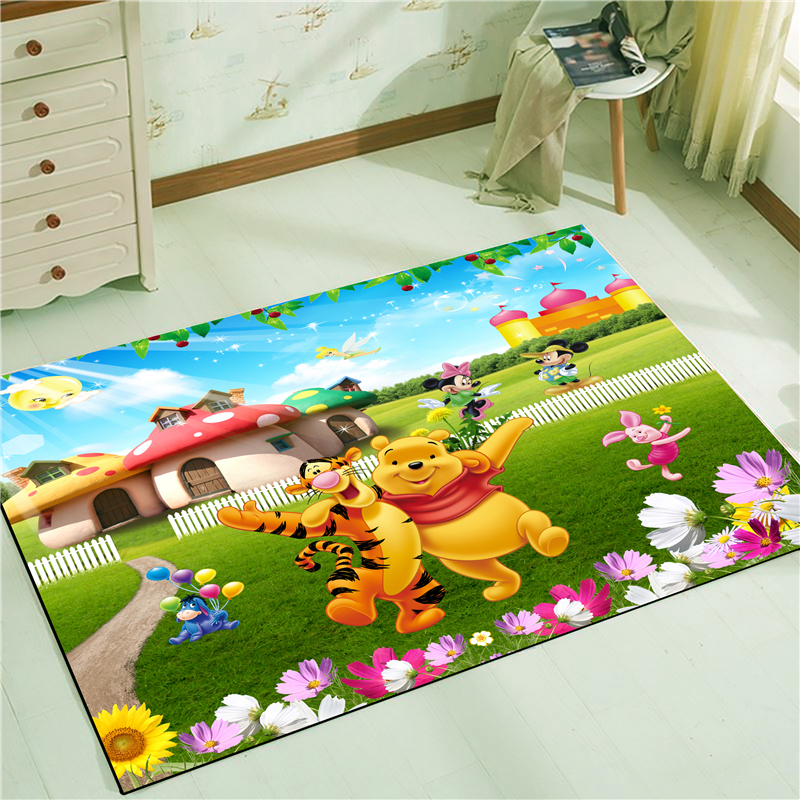 Welcome Waterproof Door Mat Cartoon  Mat Cute Kitchen Rugs Bedroom Carpets Decorative Stair Mats Home Decor Crafts