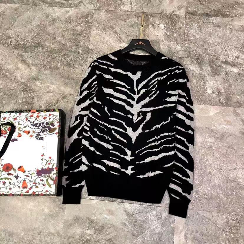Sweaters YK11712 Fashion 2021 Runway Luxury famous Brand European Design party style Men's Clothing