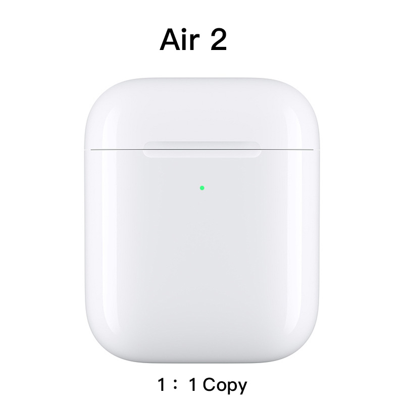 Air 2 TWS 1: 1 Copy Wireless Bluetooth Earphone With Microphone Earphone Smart In-Ear Detection Wireless Charging GPS Renamed