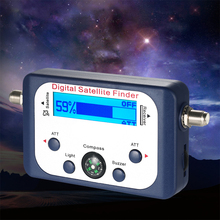 디지털 범용 GSF 9506 디지털 토 파인더 TV 신호 위성 파인더 미니 안테나 위성 TV 용 LCD 화면 디스플레이