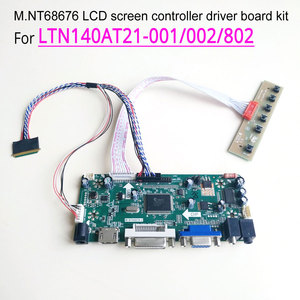 "Voor LTN140AT21-001/002/802 1366*768 Laptop Lcd Panel Hdmi Dvi Vga 14 ""MNT68676 Screen Controller Drive Board wled 40Pin Lvds Kit(China)"