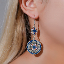 2020 fashion vintage daisy earrings accesorios mujer minimalist blue  personalized gift boho jewelry aesthetic accessories