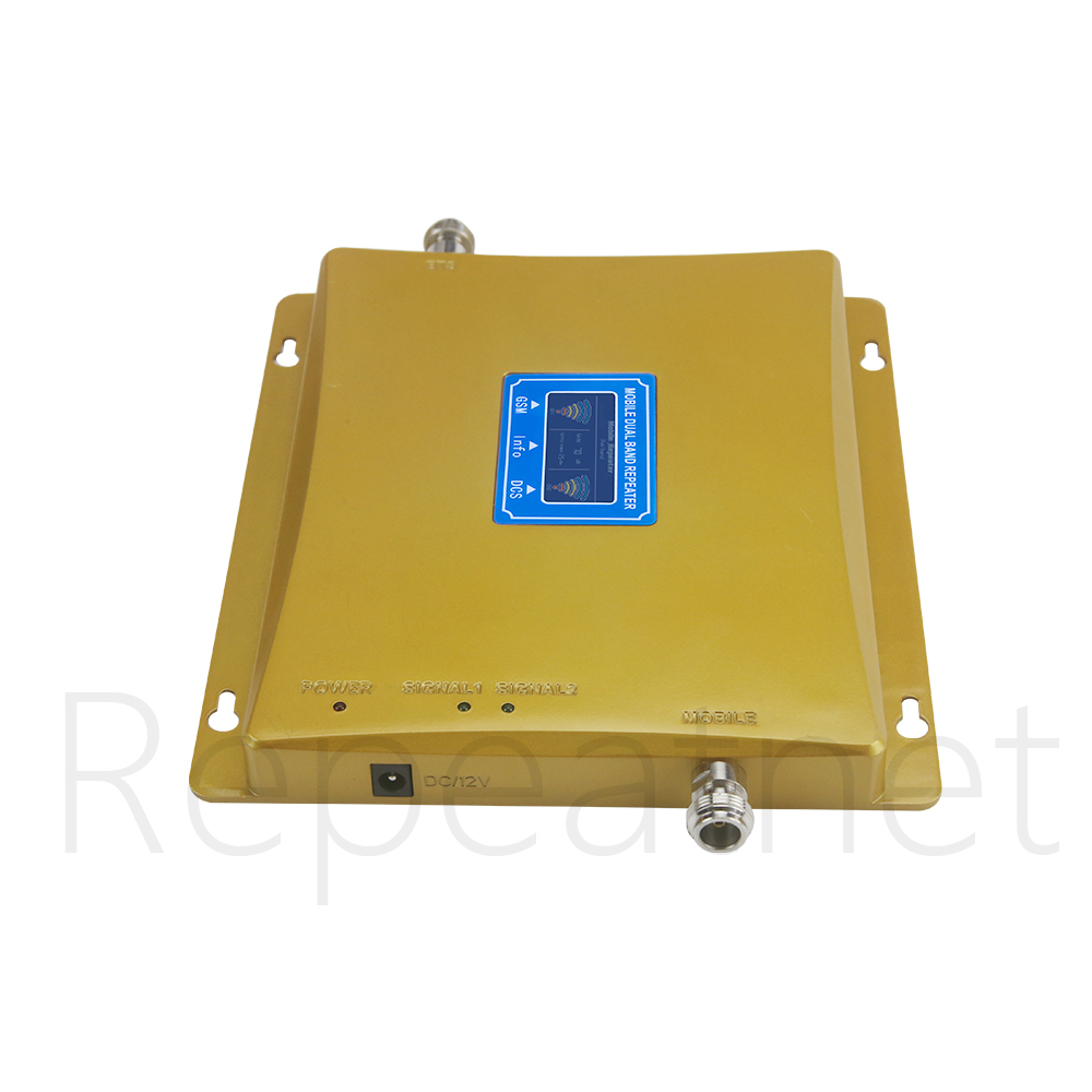 Image 3 - 2G 4G Moblie Signal Repeater GSM 900 4G LTE / DCS 1800mhz Dual  Band Cellular Signal Booster 70dB Gain LCD Display 4G AmplifierSignal  Boosters