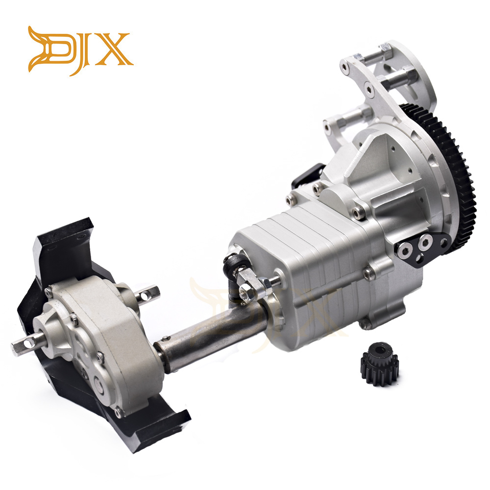 DJX R3 2 Speed Transmission Hammer Transfer Case For 1/10 RC Crawler Car Trail Finder 2 TF2