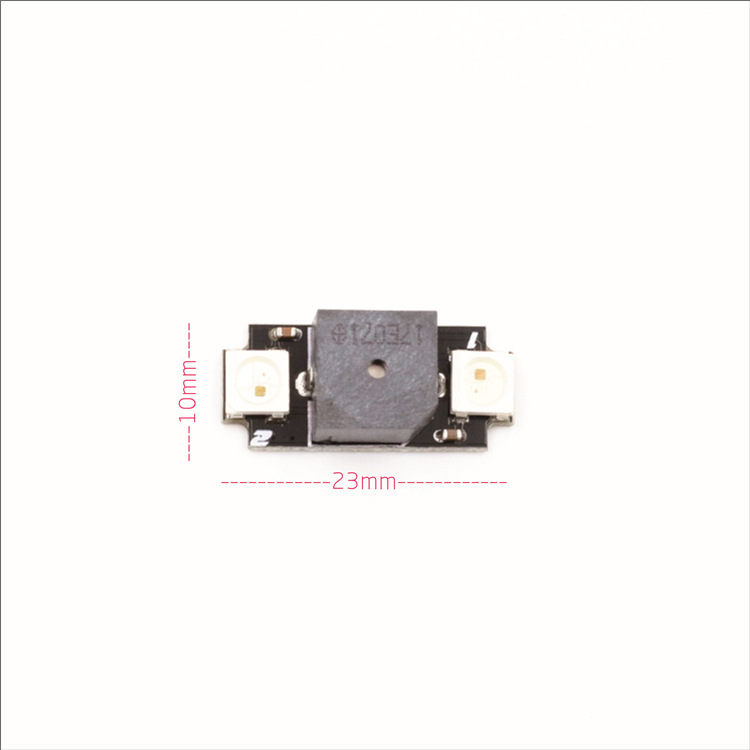 Through Machine RGB Ws2812b LED Lamp Board BB Ring Buzzer F3 F4 Flight Control Low Voltage Alarm
