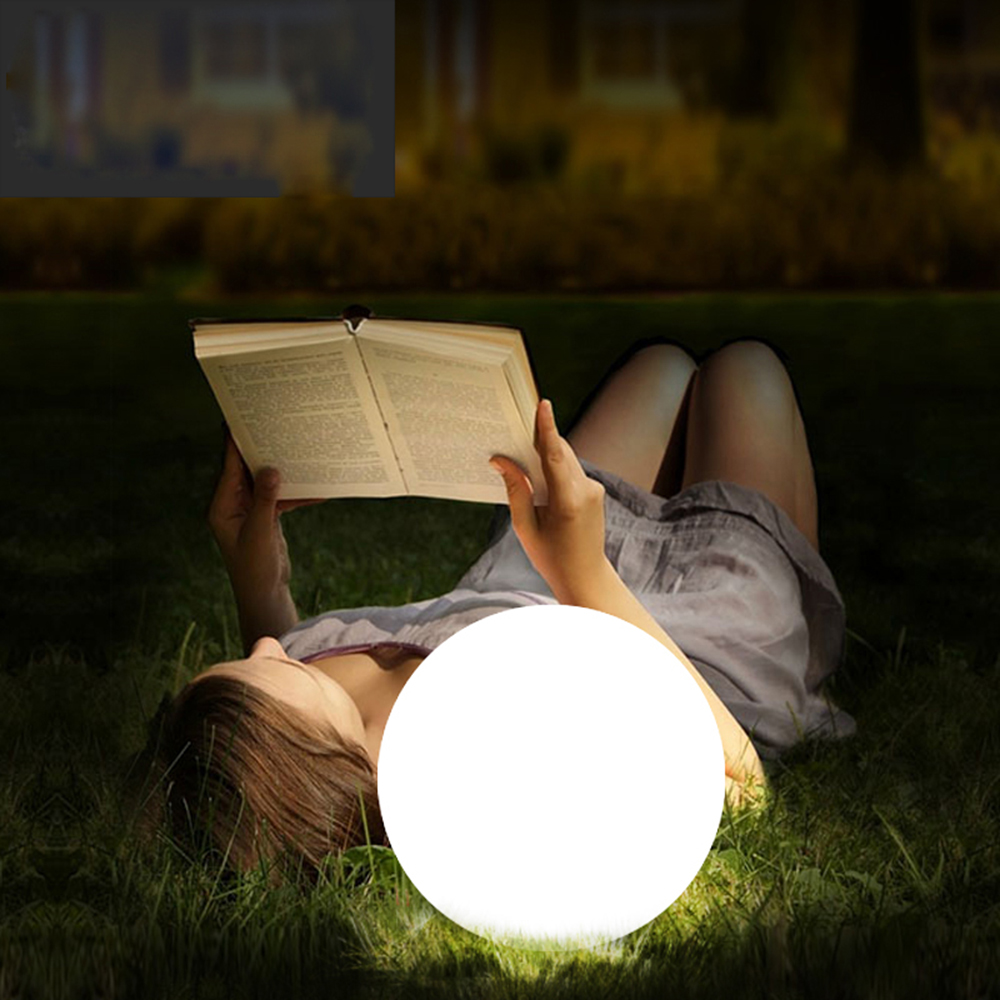 Rechargeable LED Ball Lamp RGB Waterproof Indoor Outdoor Home Wedding Garden Lawn Swimming Pool KTV Bar Party Decor