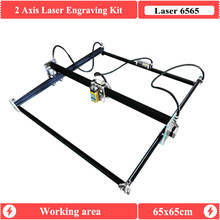 2Axis Mini Laser Cutter Engraver 65x65CM 500mW/2500mw/5500mW/15W GRBL1.1 CNC Router Engraving Machine