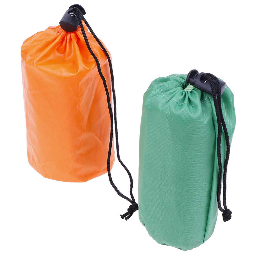 1set Emergency Sleeping Bag Emergency First Aid Sleeping Bag PE Film Tent/'uk