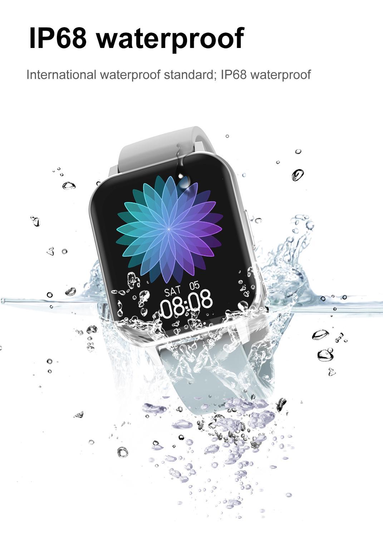 lowest price LIGE Phone Smart Watch Men Bluetooth Call Waterproof Sports Fitness Watch Health Tracker Weather play music smartwatch Women