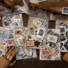 46 Pçs/lote Ticket Selo Do Vintage Etiqueta de Papel Decorativo Planejador Diário Recados Adesivos Kawaii Papelaria Escolar Suprimentos