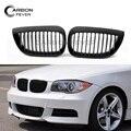 Для BMW E81 E87 E82 E88 Решетка переднего бампера сетка для почечного гриля 1 серия хэтчбек купе 2004-2013
