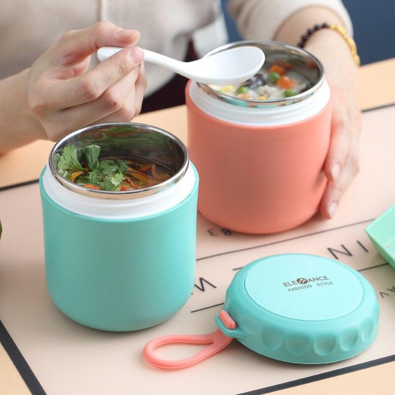 Almoço térmico bento caixa de garrafa de