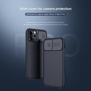 Image 3 - Nillkin caso de proteção da câmera para o iphone 12 pro max 11 11 pro max 8 7 se 2020 caso slide lens proteger casos capa de privacidade