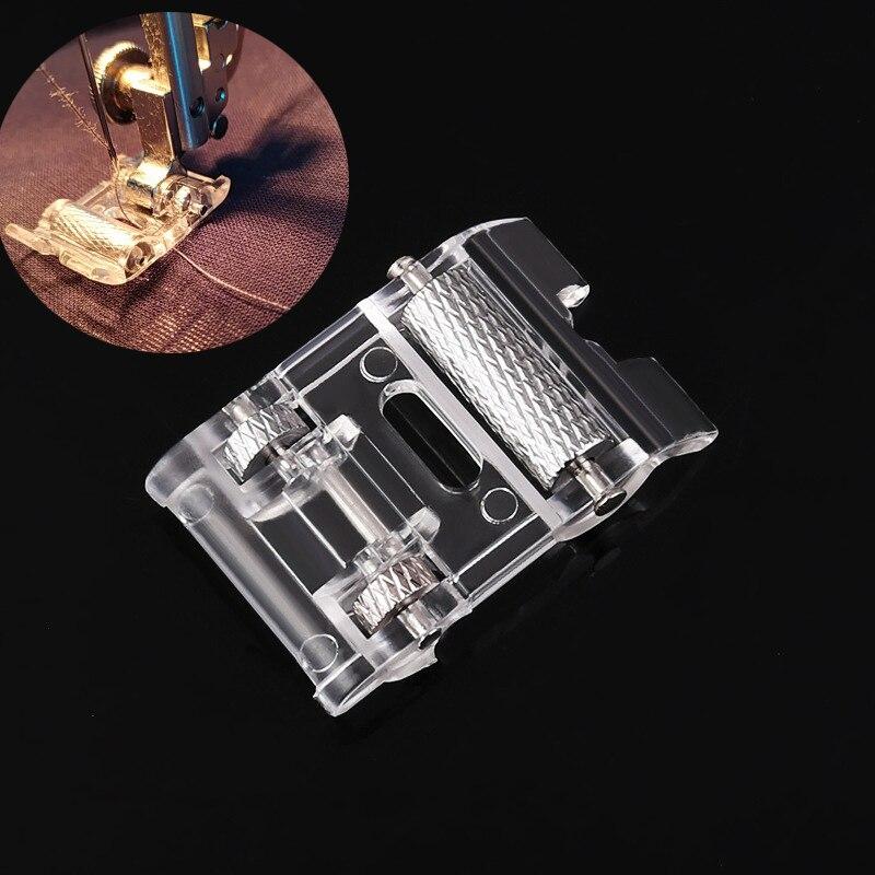 Qsezeny роликовая прижимная лапка с низким хвостовиком для Snap Singer Brother швейная машина Janome DIY аксессуары для шитья одежды ткани кожи