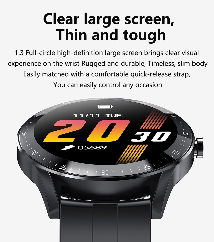 H9788e2d88dae4f1b9ddfb7188bd32c3a7 LEMFO F15 Full Touch Screen Smart Watch Men 5D Case