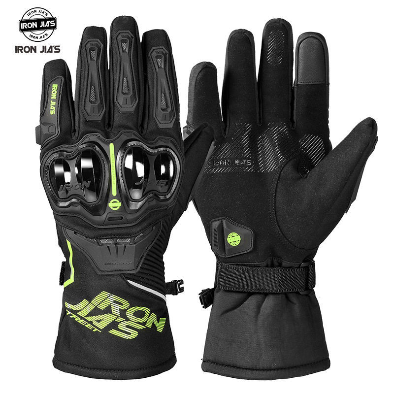 Winter Motorcycle Gloves Waterproof Windproof Moto Gloves Touch Screen Gant Moto Guantes Motorbike Riding Gloves