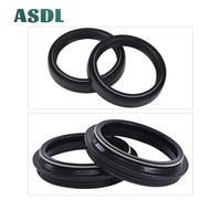 58 48x58x9/11 48X58  Motorcycle Front Fork Damper Oil Seal and Dust seal Dust Cover 48 58 9/11 (48*58*9/11) #d (1)