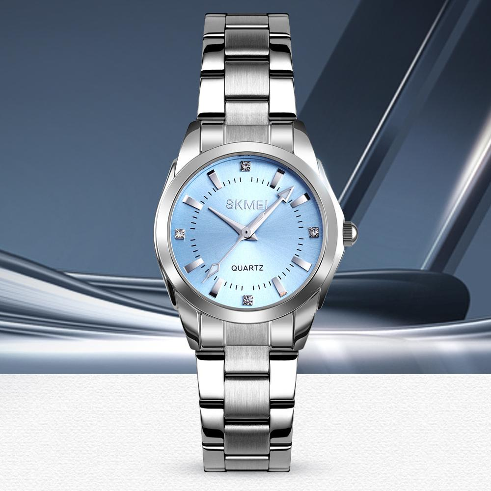 omen Watch Damski Stainless Steel Simple Fashion Ladies Watches Female Wristwatch Clock Montre Femme Casual Orologio Saati#W Women's Watches     - title=