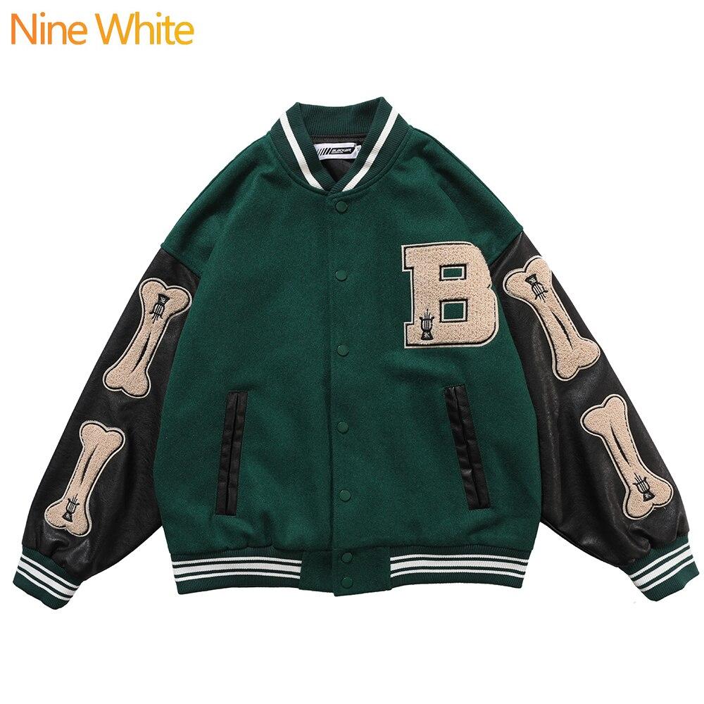 Hip-hop oversized hoodie sweatshirt men 2020 streetwear Harajuku hooded loose fashionable wool fleece sweater baseball uniform 4