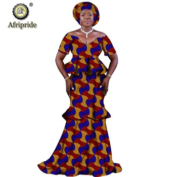 2019 African Long Maxi Dresses For Women Party Weddiing Dinner Ball Gown Party Dress Ankara Dashiki Print Afripride S1925076 Buy At The Price Of 65 45 In Aliexpress Com Imall Com