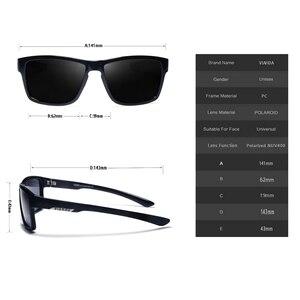 Image 3 - VIAHDA 새로운 편광 선글라스 스포츠 Outdor 남자 브랜드 디자인 거울 럭셔리 태양 안경 여성 패션 드라이버 음영