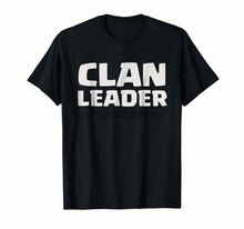 의류 클랜 리더 충돌 T 셔츠 8327