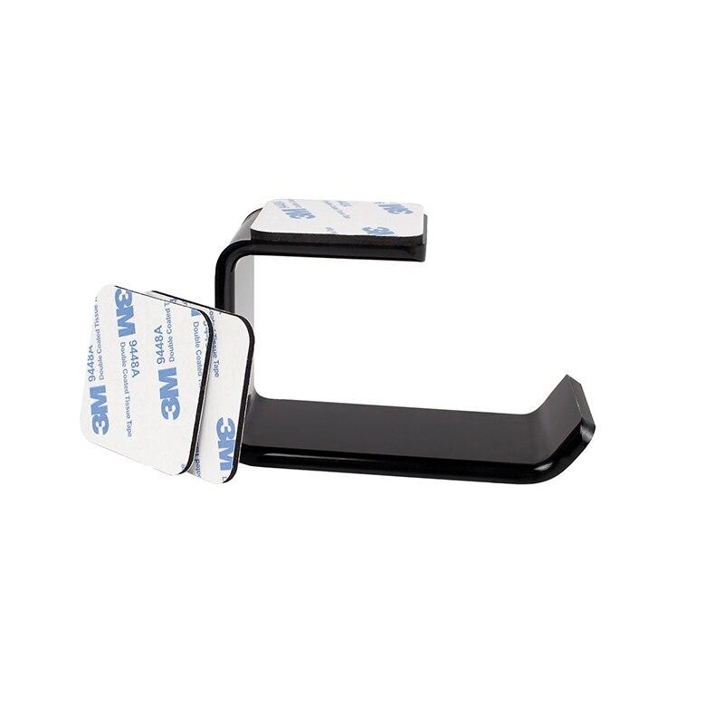 Durable Headphone Headset Holder Hanger Earphone Wall/Desk Display Stand Bracket Hanger Headphone