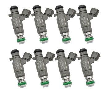 8PCS/LOT Fuel Injectors 16600-AE060 16600ae060 fbjc101 for NISSAN MURANO 3.5L V6 2003-2004 INFINITI FX45 4.5L V8 Car accessories