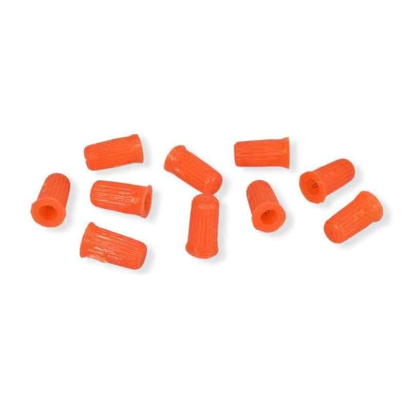 10 sztuk klej do rzęs korek do butelki blokowanie igły do przedłużania rzęs narzędzie losowy kolor klej do rzęs narzędzie sztuczne rzęsy rzęsy