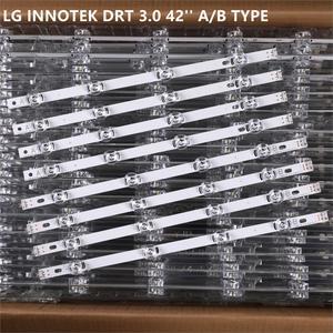 Image 1 - 8 قطعة x LED الخلفية مصباح عدسة قطاع ل LG 42LY320C lc420عل inنوت k DRT 3.0 42 بوصة التلفزيون 42LB5610 42GB6310 شاشات كريستال بلورية