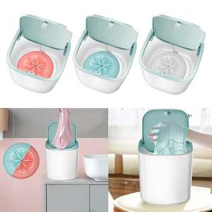 Washer Makeup-Brush-Pants Washing-Machine Travel Mini Portable Camping for Home Usb-Charging