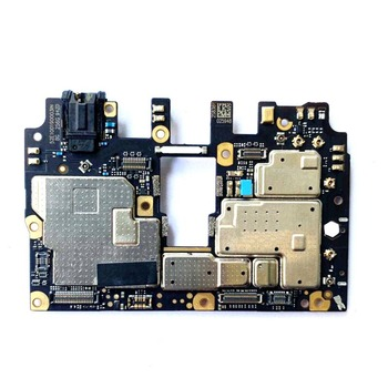 Tested100%Original Unlocked With Chips Circuits Mobile Electronic Panel F1 Mainboard For Xiaomi Pocophone Poco F1 Motherboard