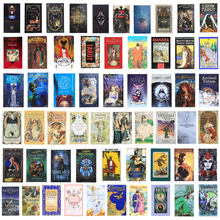 200 carte dei tarocchi in stile oracolo Golden Art liberty The Green Witch Universal Celtic Thelema Steampunk Tarot Board Deck Games