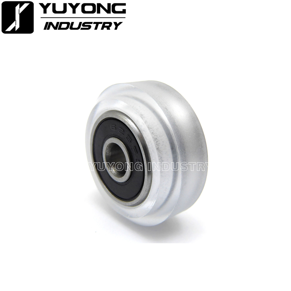 High precision CNC clear Polycarbonate Xtreme Solid v wheel Assyv slot wheel for V-Slot railOX CNCC-Beam parts3D parts