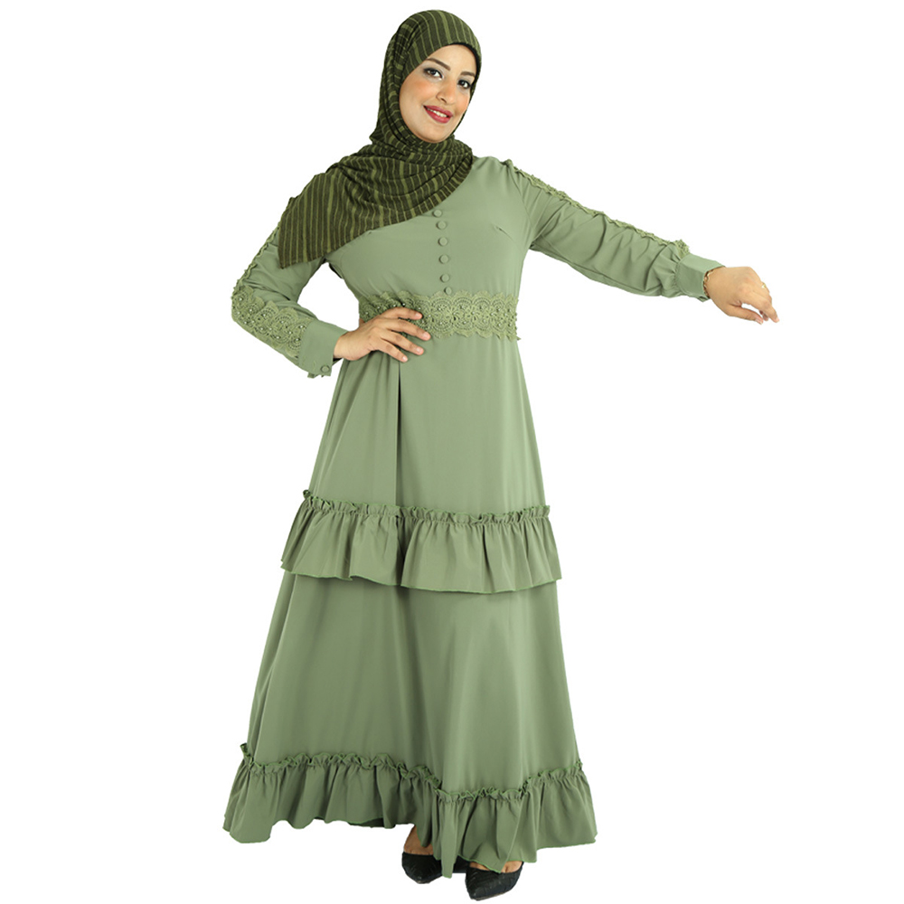 Ramadan Eid Embroidery Abaya Turkey Arabic Hijab Muslim Dress Abayas For Women Islamic Clothing Oman Robe Caftan Marocain Kaftan
